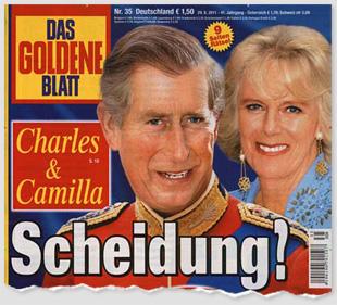 Charles & Camilla - Scheindung?