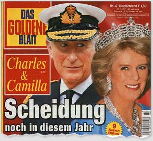 Camilla & Charles - Scheidung noch in diesem Jahr