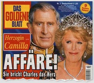 Herzogin Camilla - Affäre! Sie bricht Charles das Herz