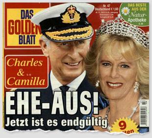 Charles & Camilla - Ehe-Aus! Jetzt ist es endgültig