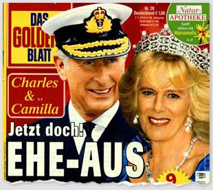Charles & Camilla - Jetzt doch! Ehe-Aus