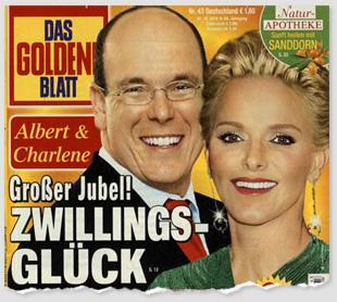 Albert & Charlene - Großer Jubel! Zwillings-Glück