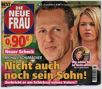Neuer Schock - Michael Schumacher - Nicht auch noch sein Sohn! - Zerbricht er am Schicksal seines Vaters?