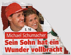 Michael Schumacher - Sein Sohn hat ein Wunder vollbracht