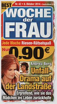 Andrea Berg - Unfall-Drama auf der Landstraße - Ergreifend, wie sie das Mädchen ins Leben zurückholte