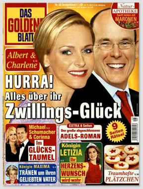 Albert & Charlene - Hurra! Alles über ihr Zwillings-Glück