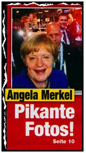 Angela Merkel - Pikante Fotos!