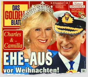 Charles & Camilla - Ehe-Aus vor Weihnachten!