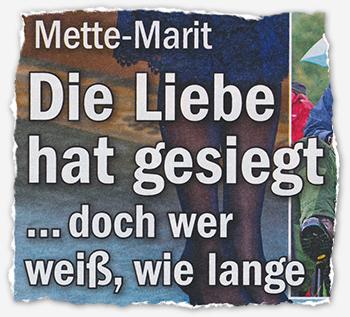 Mette-Marit - Die Liebe hat gesiegt ... doch wer weiß, wie lange