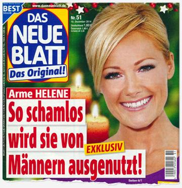 Arme Helene - So schamlos wird sie von Männern ausgenutzt!