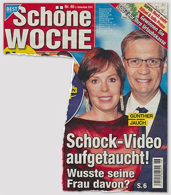 Günther Jauch - Schock-Video aufgetaucht! Wusste seine Frau davon?