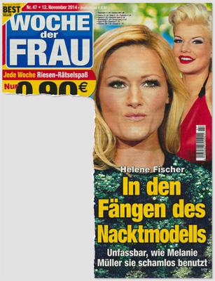 Helene Fischer - In den Fängen des Nacktmodells - Unfassbar, wie Melanie Müller sie schamlos benutzt