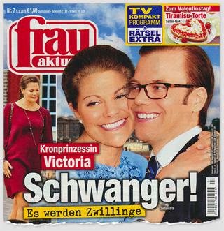 Kronprinzessin Victoria - Schwanger! Es werden Zwillinge