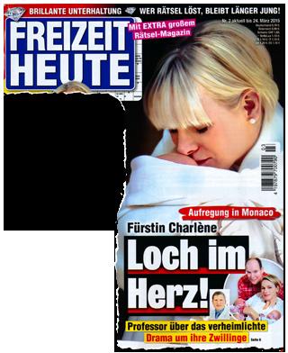 Aufregung in Monaco - Fürstin Charlène - Loch im Herz! Professor über das verheimlichte Drama um ihre Zwillinge