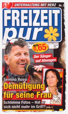 Semino Rossi - Demütigung für seine Frau - Schlimme Fotos - Hat er sich nicht mehr im Griff?