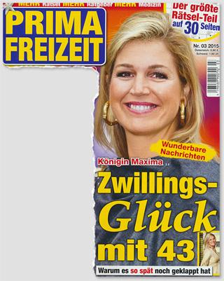 Königin Maxima - Zwillings-Glück mit 43 - Warum es so spät noch geklappt hat