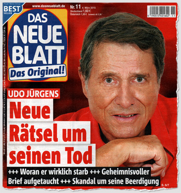 Udo Jürgens - Neue Rätsel um seinen Tod - Woran er wirklich starb - Geheimnisvoller Brief aufgetaucht - Skandal um seine Beerdigung
