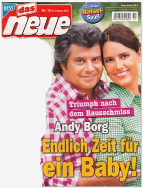 Triumph nach dem Rausschmiss - Andy Borg - Endlich Zeit für ein Baby!