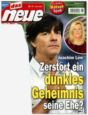 Joachim Löw - Zerstört ein dunkles Geheimnis seine Ehe?
