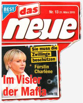 Sie muss die Zwillinge beschützen - Fürstin Charlène - Im Visier der Mafia