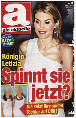 Königin Letizia - Spinnt sie jetzt? Sie setzt ihre süßen Töchter auf Diät!