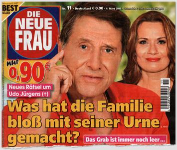 Neues Rätsel um Udo Jürgens - Was hat die Familie bloß mit seiner Urne gemacht?