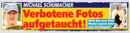 Michael Schumacher - Verbotene Fotos aufgetaucht! Wird das sexy Pelz-Model seinem Sohn zum Verhängnis?