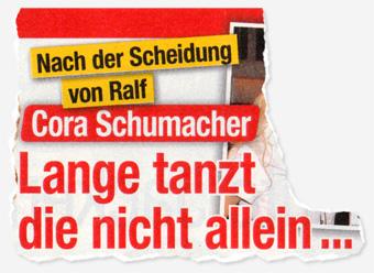 Nach der Scheidung von Ralf - Cora Schumacher - Lange tanzt die nicht allein ...