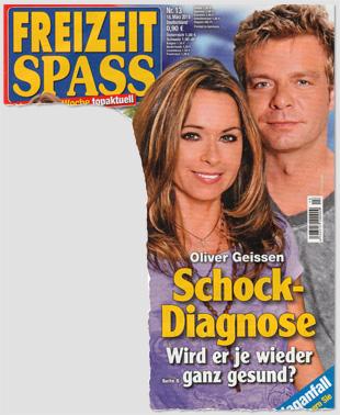 Oliver Geissen - Schock-Diagnose - Wird er je wieder ganz gesund?