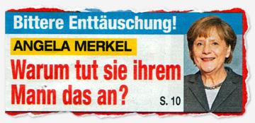Bittere Enttäuschung! Angela Merkel - Warum tut sie ihrem Mann das an?