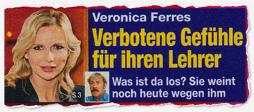 Veronica Ferres - Verbotene Gefühle für ihren Lehrer - Was ist da los? Sie weint noch heute wegen ihm