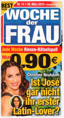 Christine Neubaer - Ist José gar nicht ihr erster Latin-Lover?