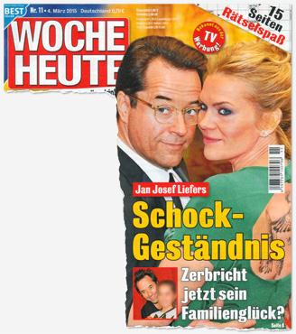 Jan Josef Liefers - Schock-Geständnis - Zerbricht jetzt sein Familienglück?