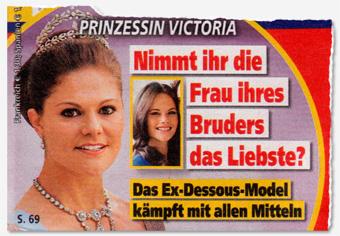 Prinzessin Victoria - Nimmt ihr die Frau ihres Bruders das Liebste? Das Ex-Dessous-Model kämpft mit allen Mitteln
