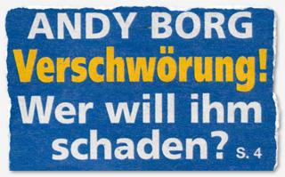 Andy Borg - Verschwörung! Wer will ihm schaden?