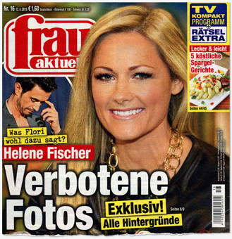 Was Flori wohl dazu sagt? Helene Fischer - Verbotene Fotos - Exklsuiv! Alle Hintergründe