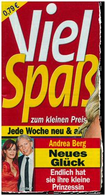 Andrea Berg - Neues Glück - Endlich hat sie ihre kleine Prinzessin