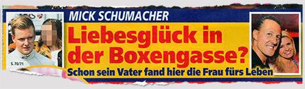 Mick Schumacher - Liebesglück in der Boxengasse? - Schon sein Vater fand hier die Frau fürs Leben