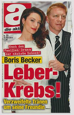 Nach dem Familien-Drama der nächste Schock! Boris Becker - Leber-Krebs! Verzweifelte Tränen um seine Freundin