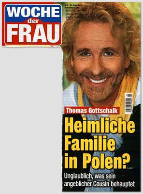 Thomas Gottschalk - Heimliche Familie in Polen? Unglaublich, was sein angeblicher Cousin behauptet