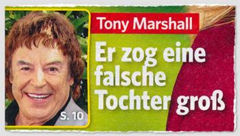 Tony Marshall - Er zig eine falsche Tochter groß