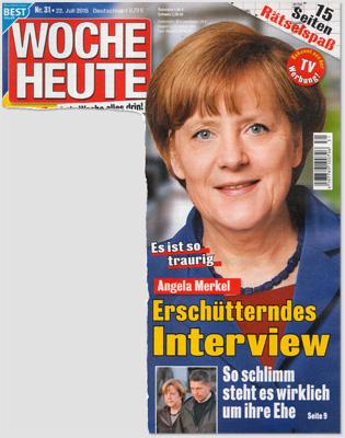 Es ist so traurig - Angela Merkel - Erschütterndes Interview - So schlimm steht es wirklich um ihre Ehe