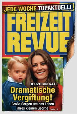 Herzogin Kate - Dramatische Vergiftung! Große Sorgen um das Leben ihres kleinen George